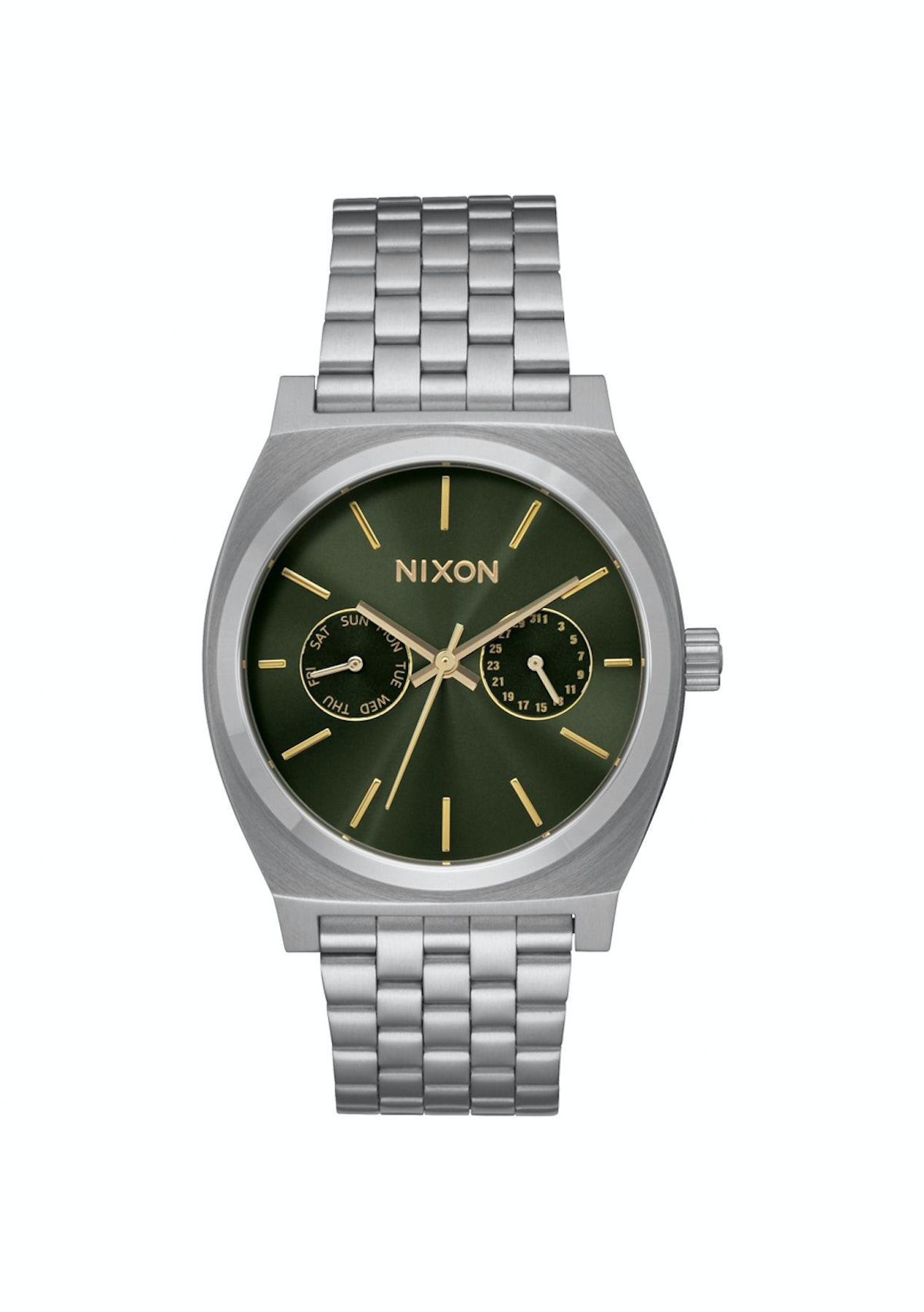 74486add2 Nixon The Time Teller Deluxe Watch - The Watch Outlet - Onceit