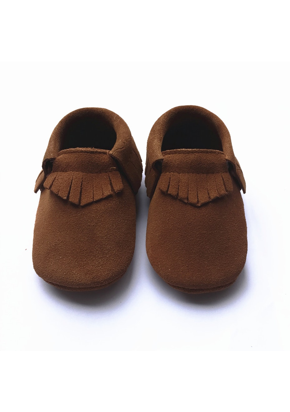 Baby  Leather Shoes - Tan