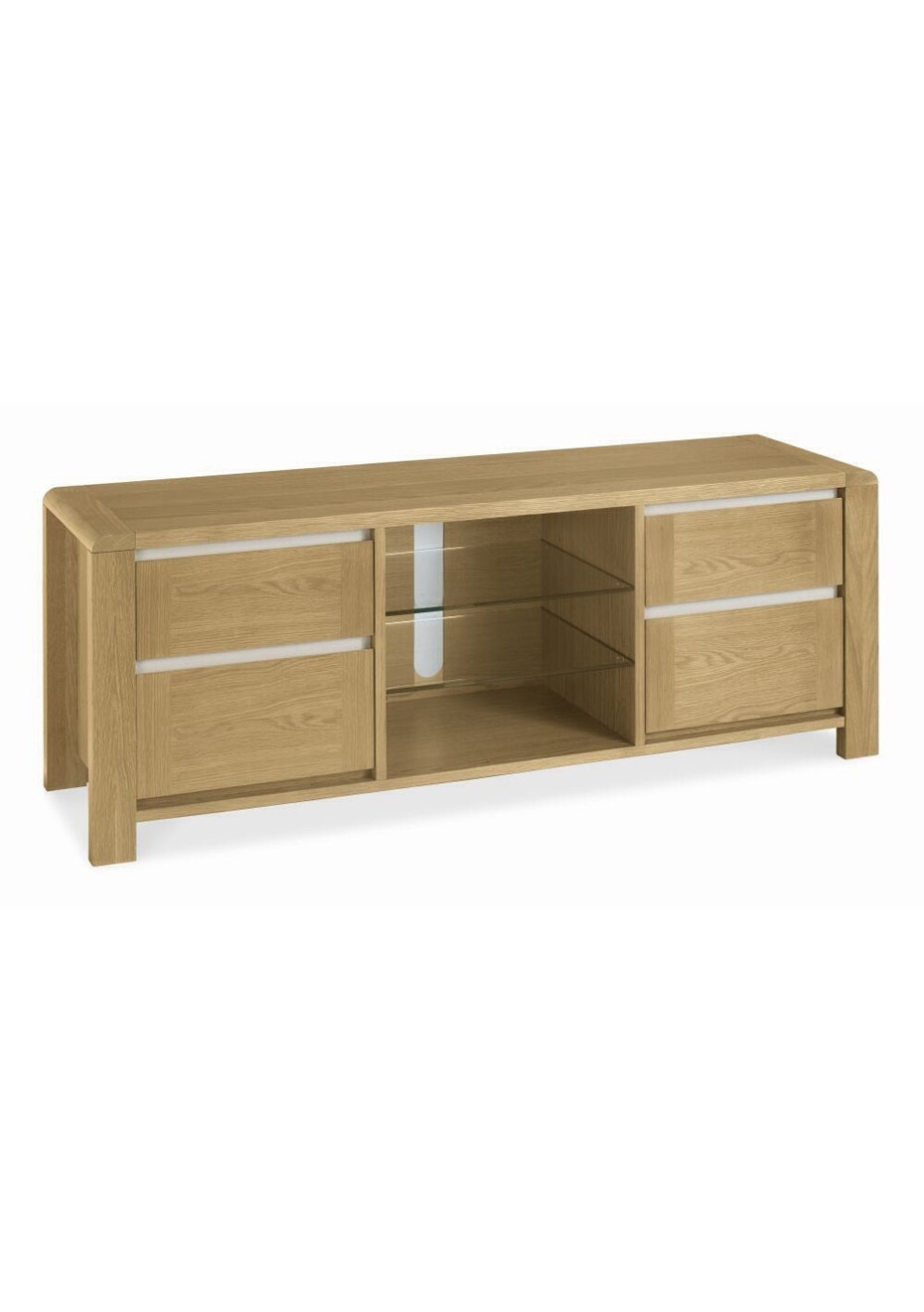 Furniture By Design - Casa Oak Entertainment Unit- Light Oak