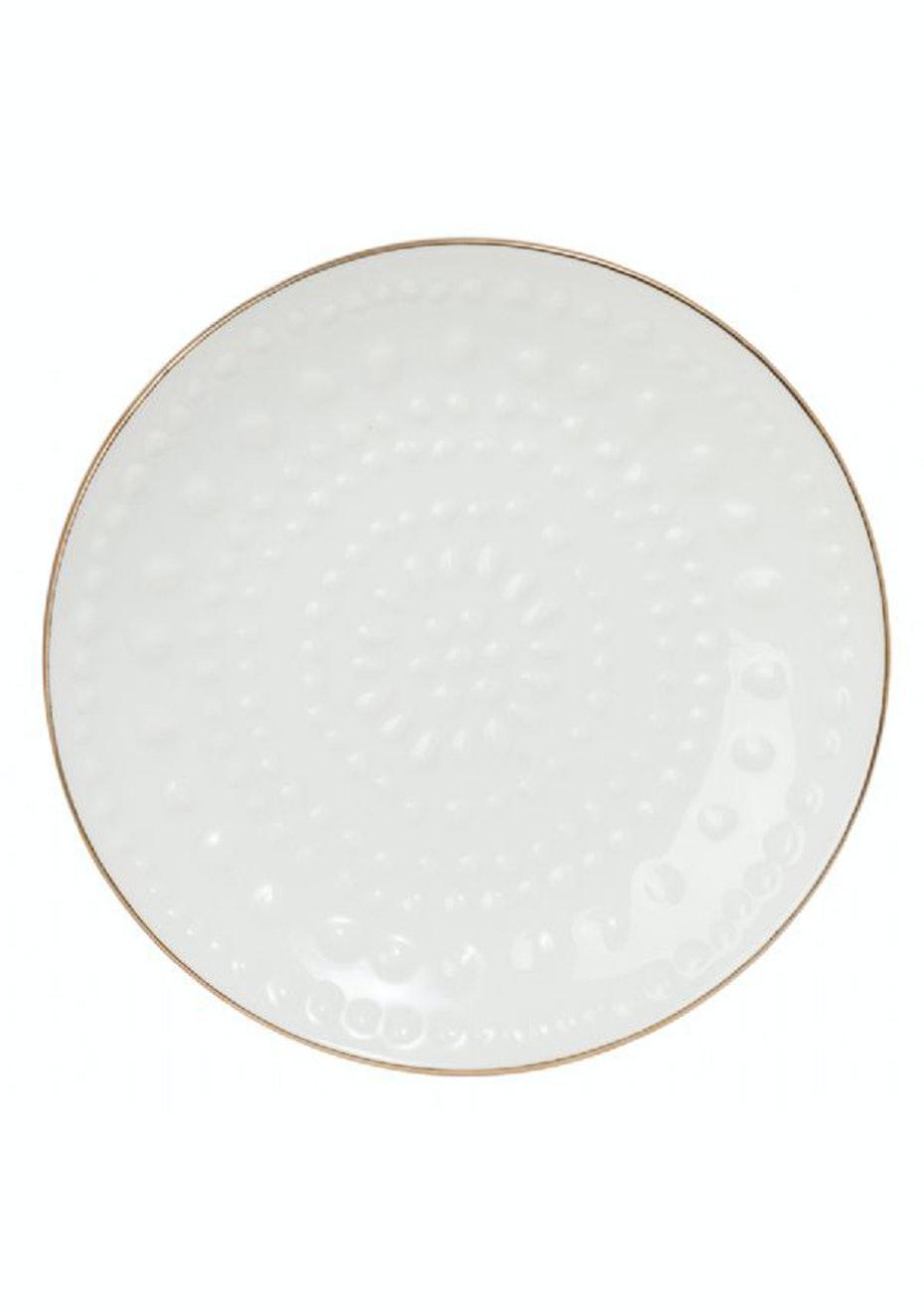 General Eclectic - Trinket Dish Gold Rim