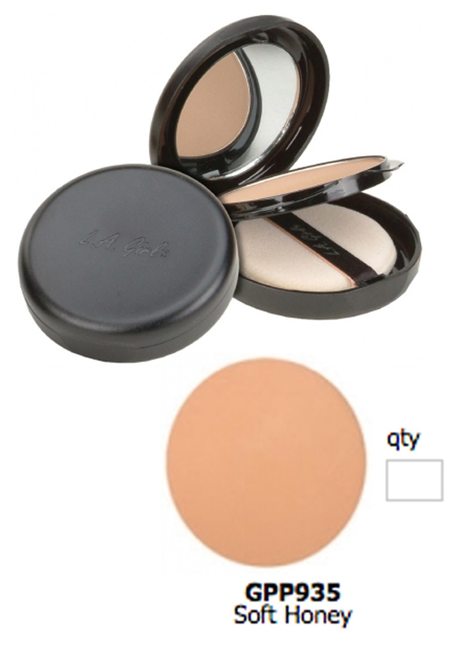 LA Girl Ultimate Pressed Powder - Soft Honey