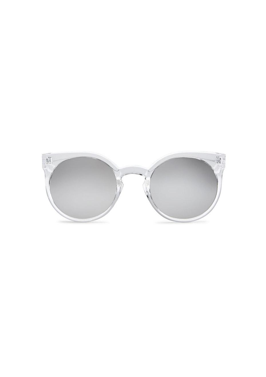 Quay - Kosha - Clear / Silver Mirror