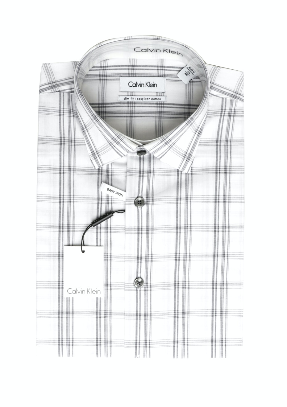 CK Slim Fit Shirt  - Blue/white check