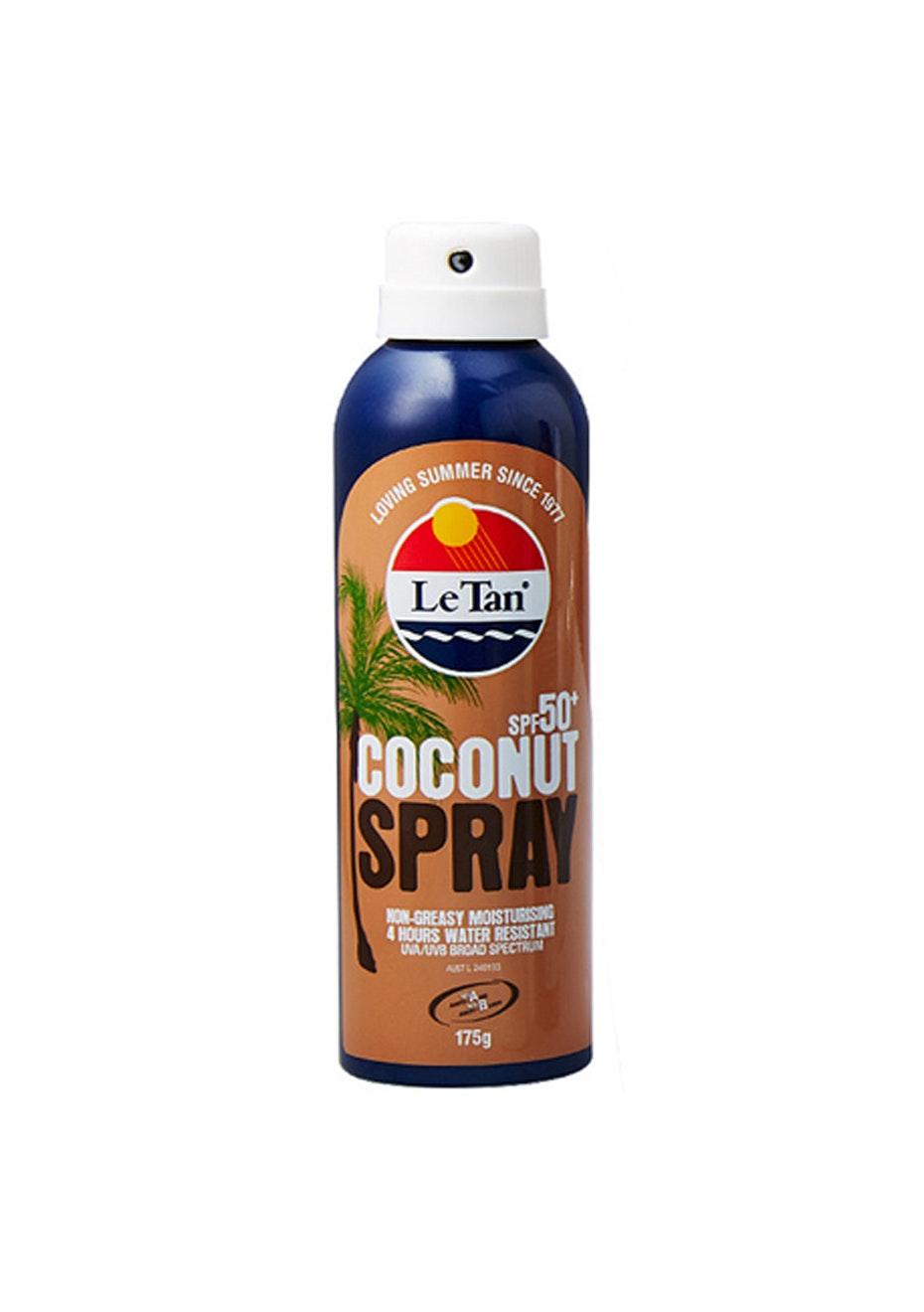 Le Tan Coconut Aerosol Spray SPF 50+