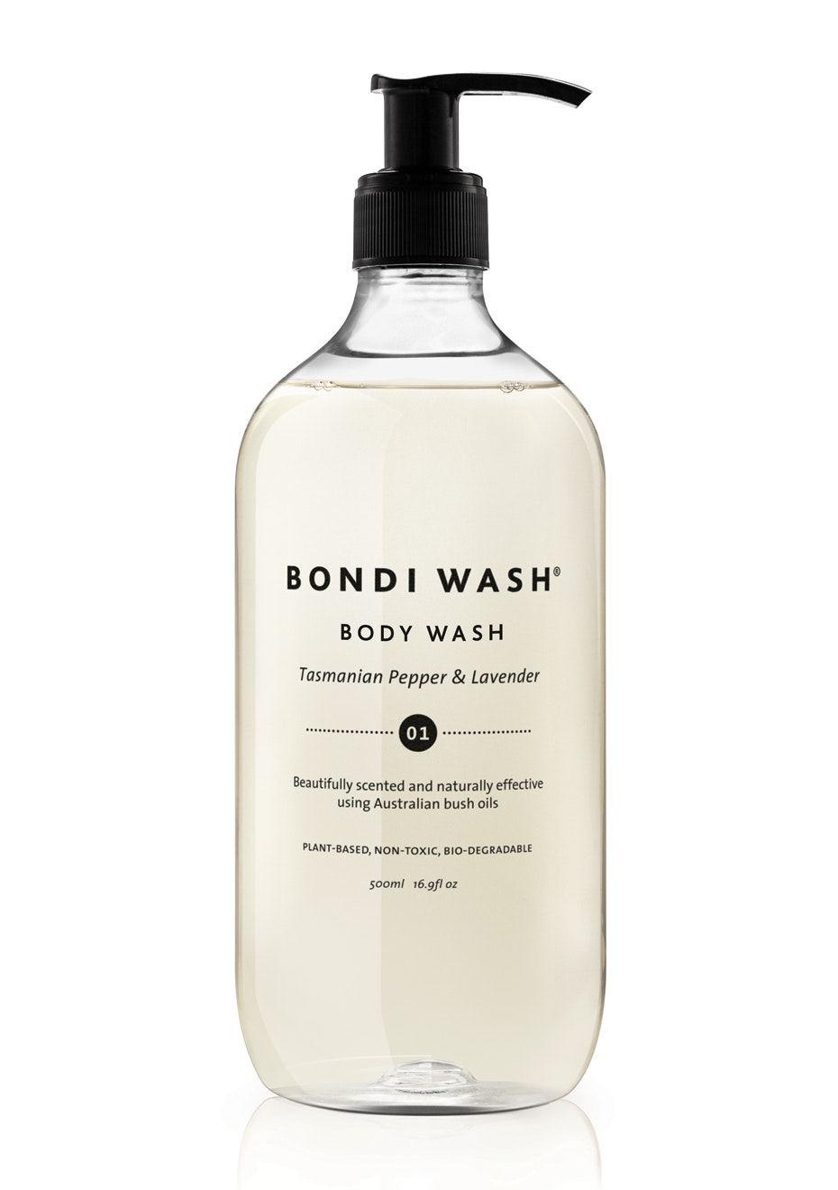 Bondi Wash - Body Wash Tasmanian Pepper & Lavender 500ml