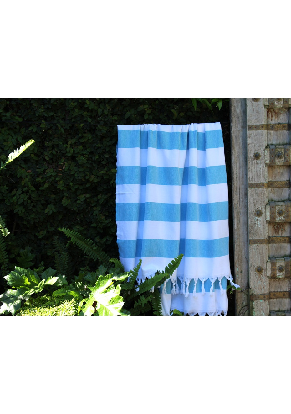 Cabana Turquoise Turkish Towel