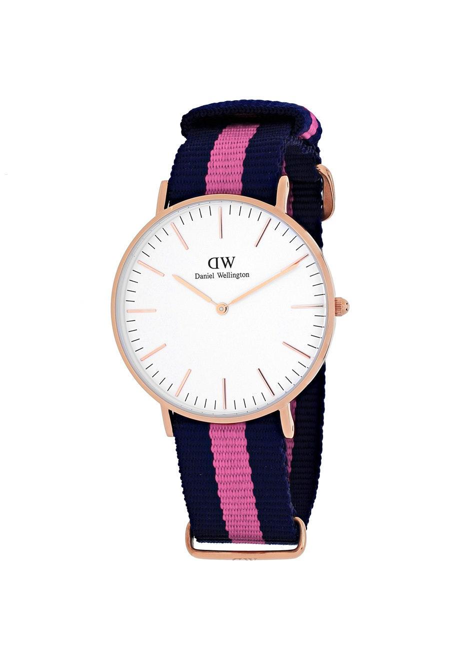 Daniel Wellington Women's Classic Winchester - White/Two-tone Navy B