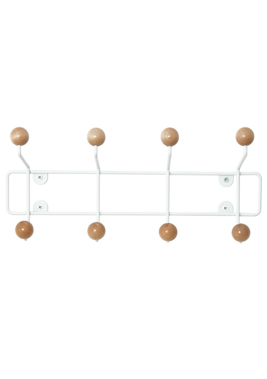 Pt Home - Coat Rack Saturnus - White/Natural