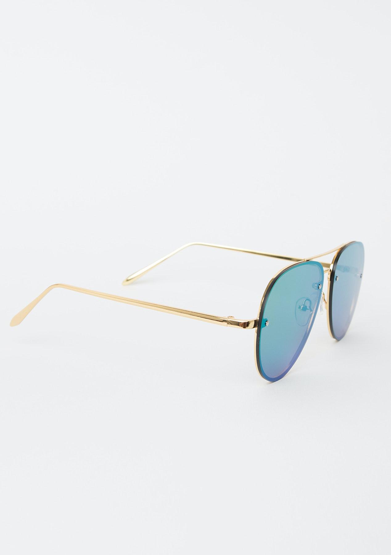Mosmann Australia - Gold frames with Pink mirror lens - Eyewear ...