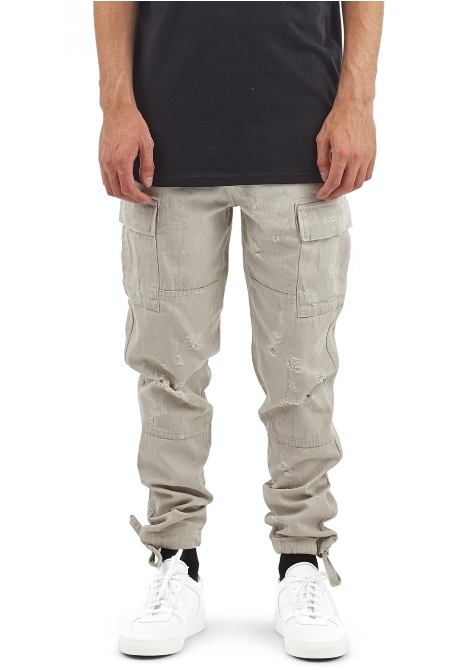 I Love Ugly - Cargo Pant - Light Stone