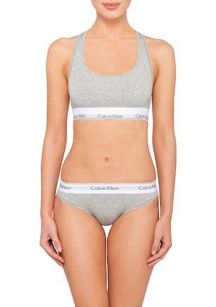 f2c1598819f Calvin Klein - Modern Cotton Bralette - Grey Heather
