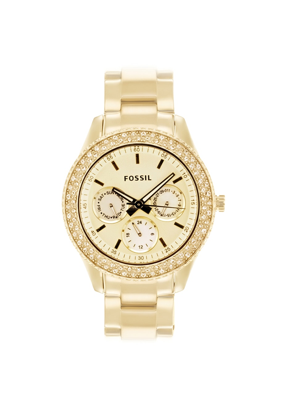 Fossil Women's Stella - Gold/Gold