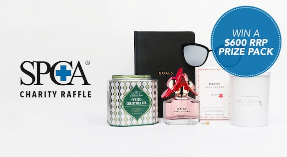 Image of the 'SPCA Charity Raffle' sale