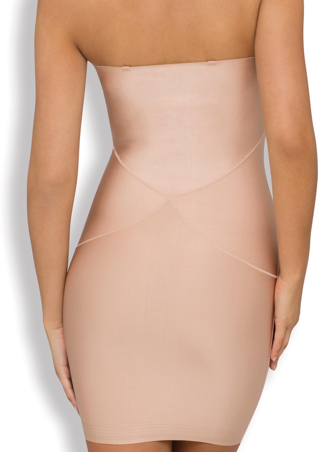 76cb39e88ef Nancy Ganz - Body Architect Slip Dress - Warm Taupe - Underwear Outlet -  Onceit