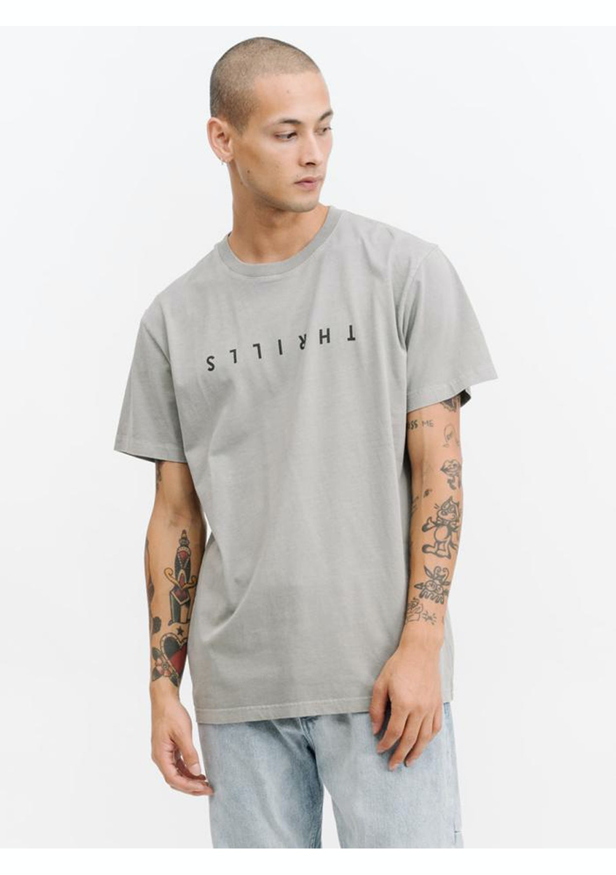cad25e9e367e Thrills Co - Thrills Classic Tee - Stone - DONT TRANSER Thrills Co. - Onceit