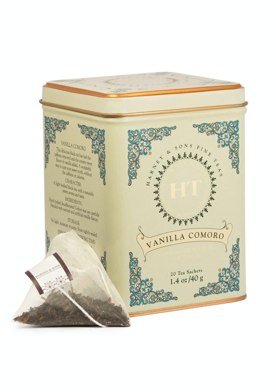 Harney & Sons - Vanilla Comoro - 20 Sachet Tin