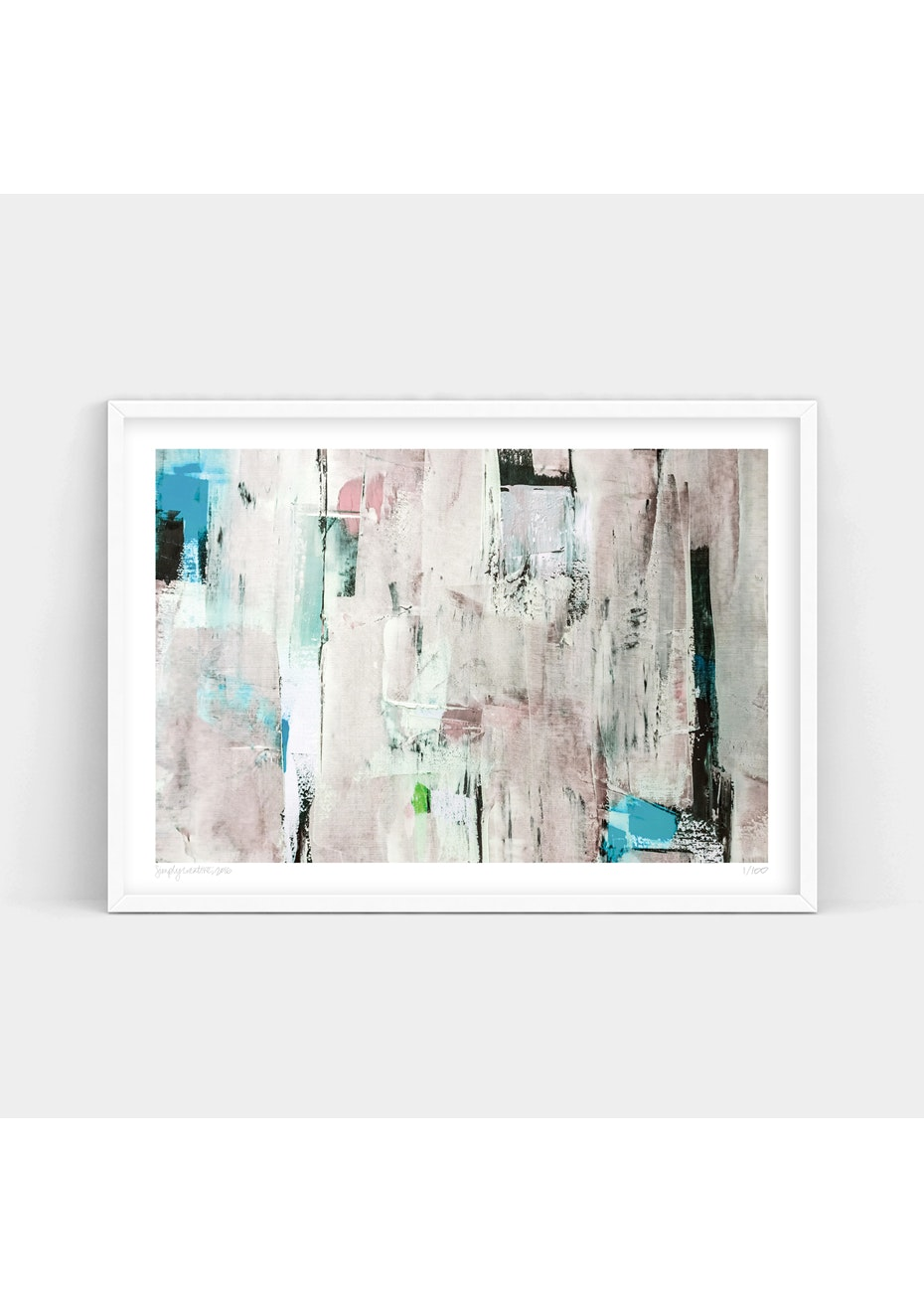 Simply Creative - Neutral - A1 Colour Limited Edition Print
