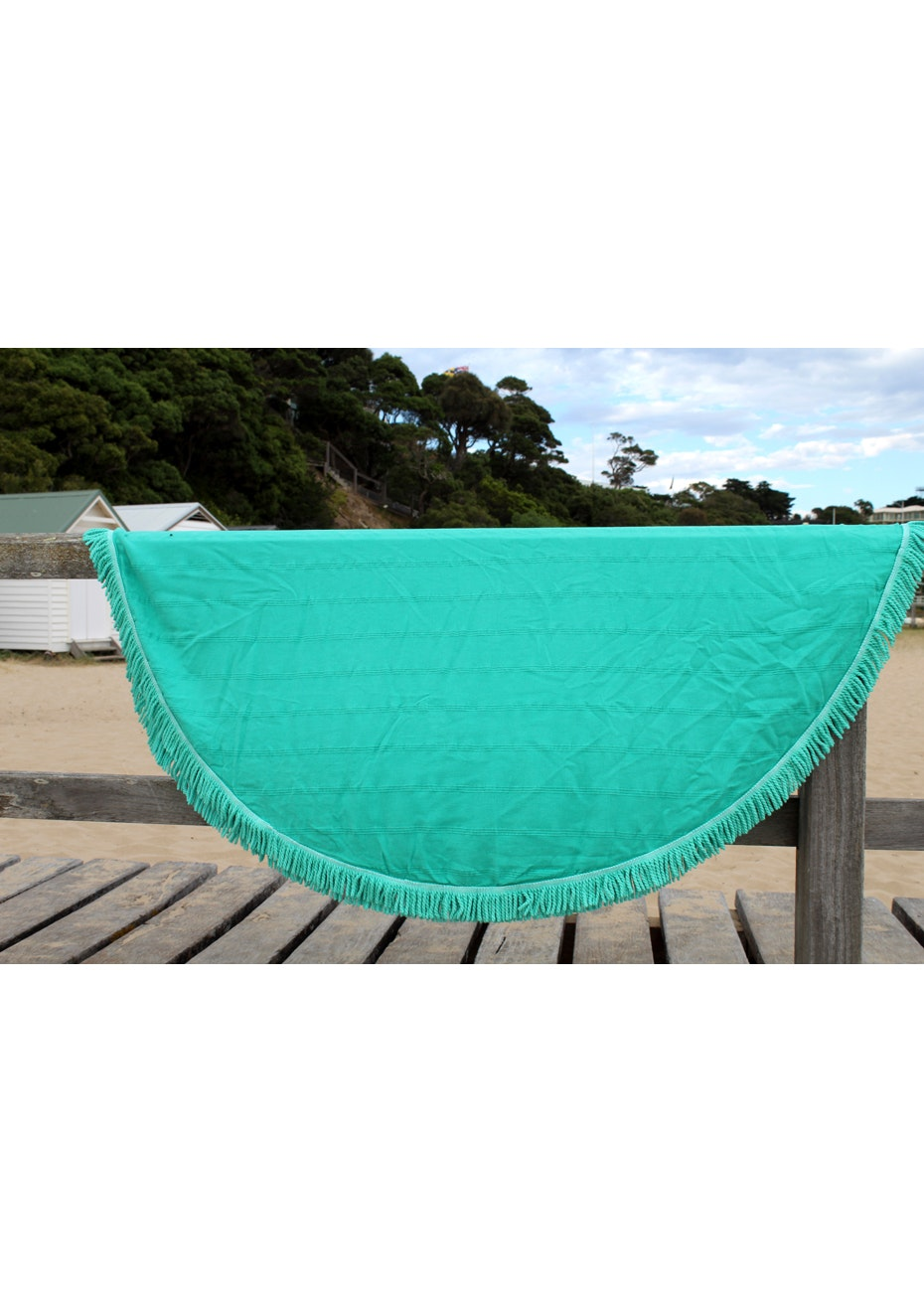 Round Adore Sea Green Towel