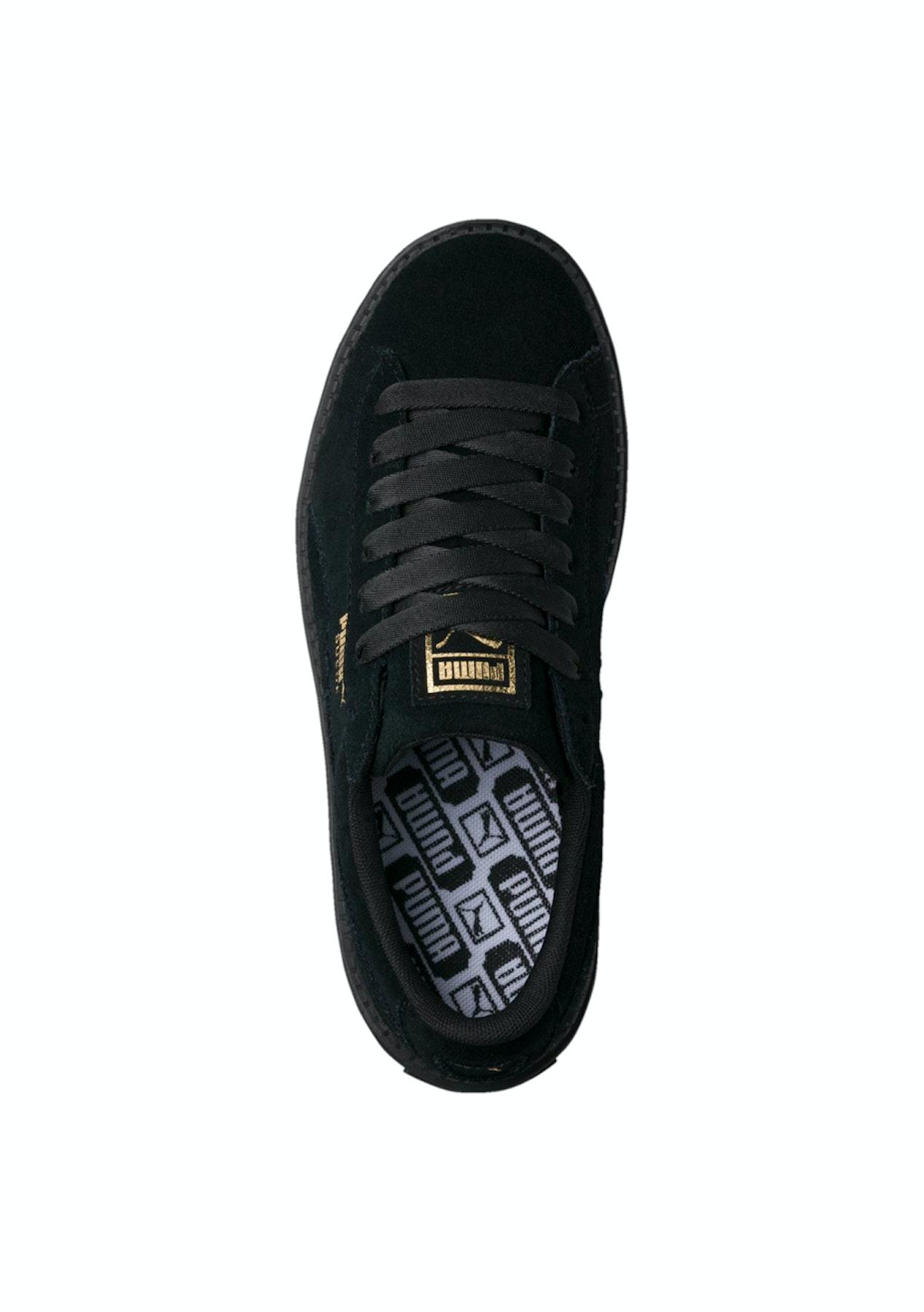 online retailer 42e5a 2488a Puma Womens - Suede Platform Trace - Black