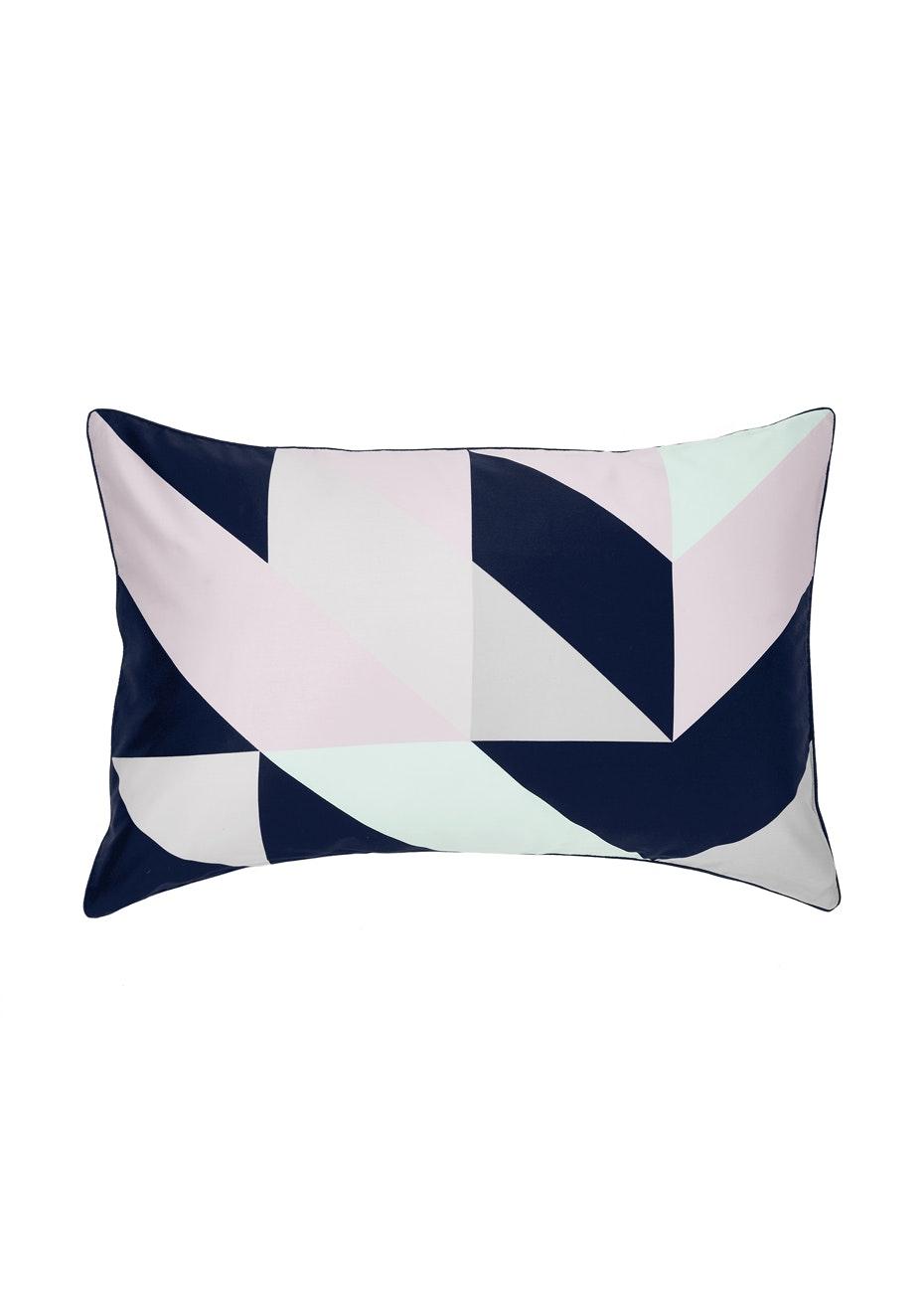 Aura Cinq Standard Pillow Case Ea Pillowcase - Standard Blueprint