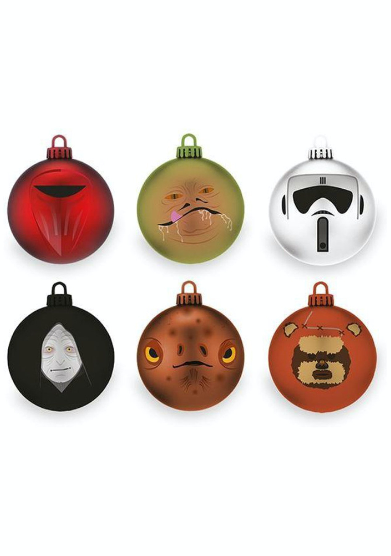 Official Star Wars Return Of The Jedi Baubles Christmas Tree