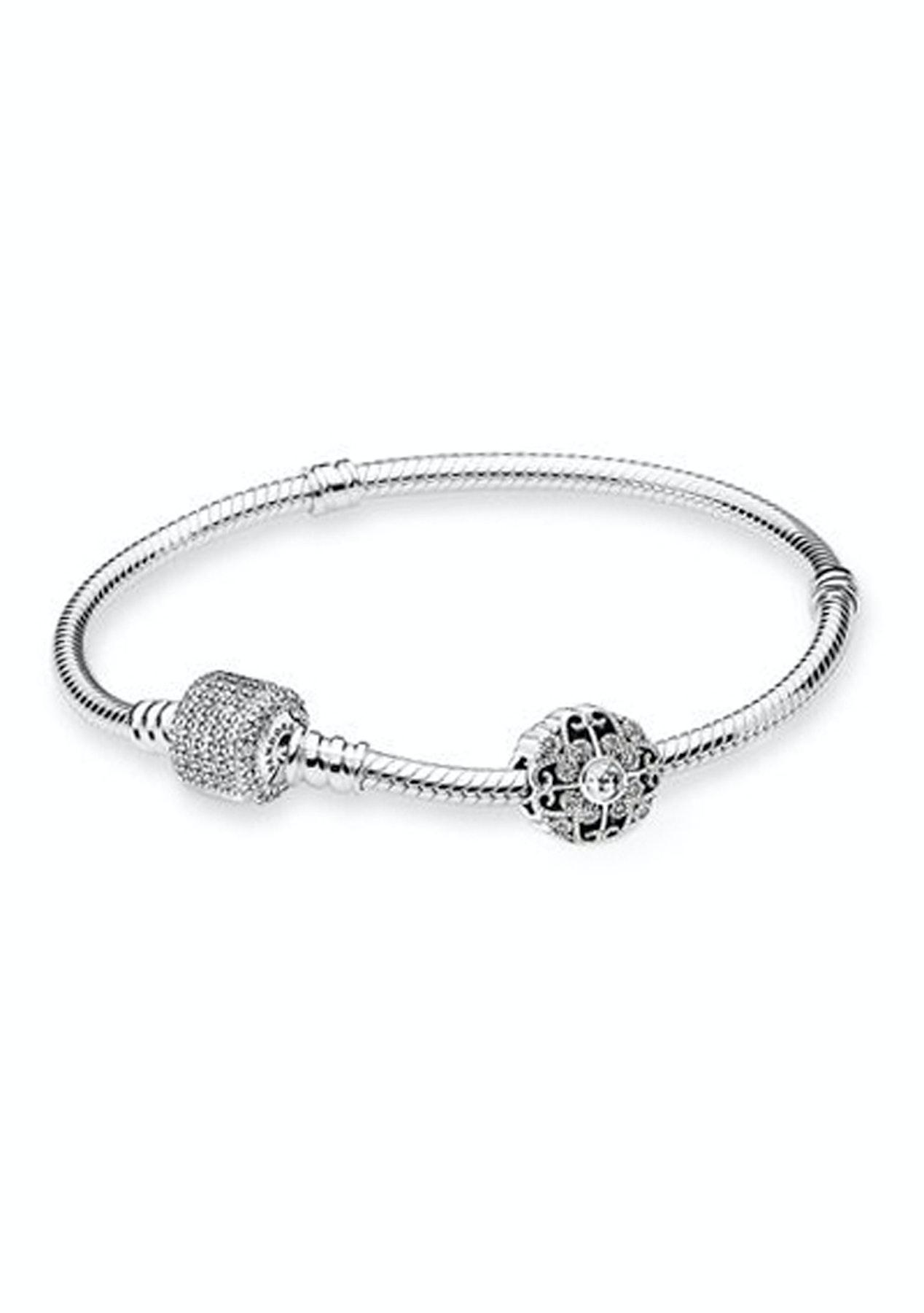 dfccc24d710 PANDORA - The Enchanting Bracelet Gift Set - Pandora Stacker Rings + More -  Onceit