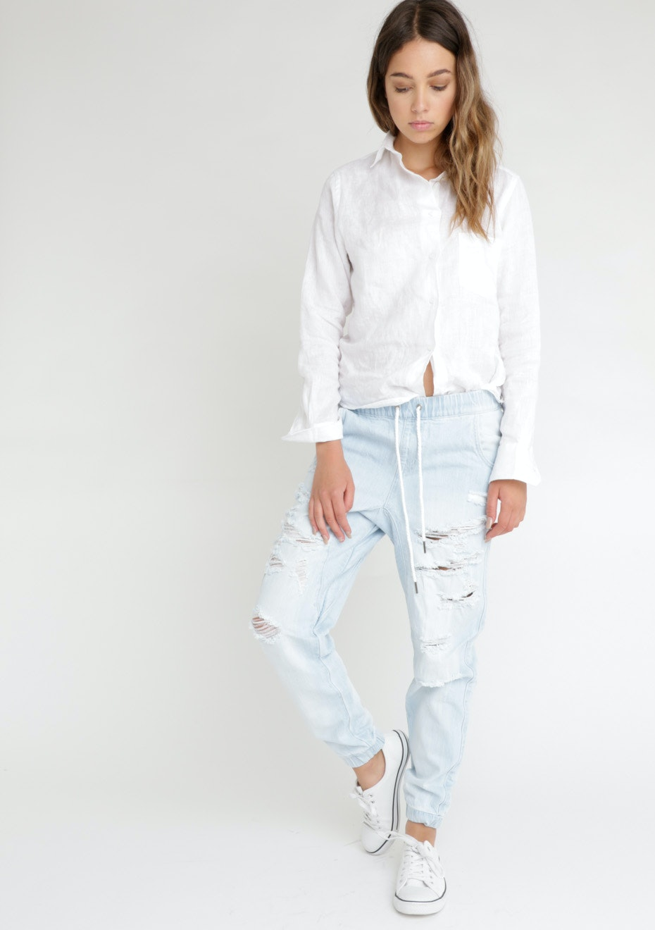 All About Eve - Obey Jean - Light Blue