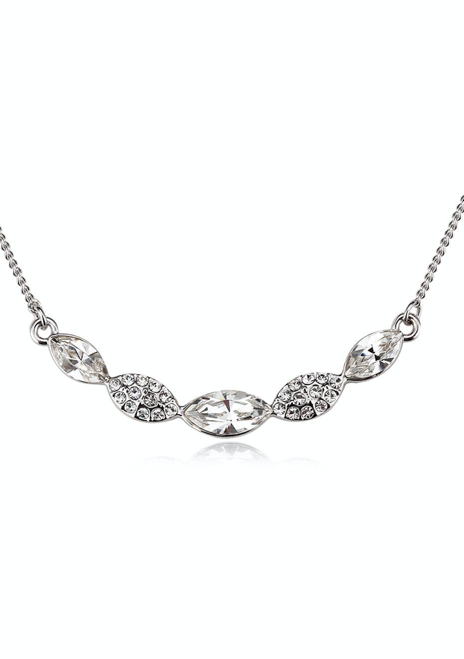 Krug Pendant Necklace Ft Swarovski Crystals