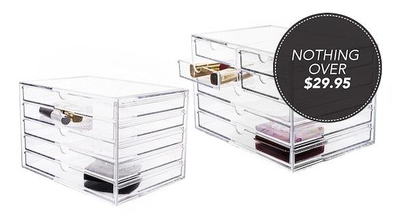 Image of the 'Perspex Cosmetic Organisers' sale