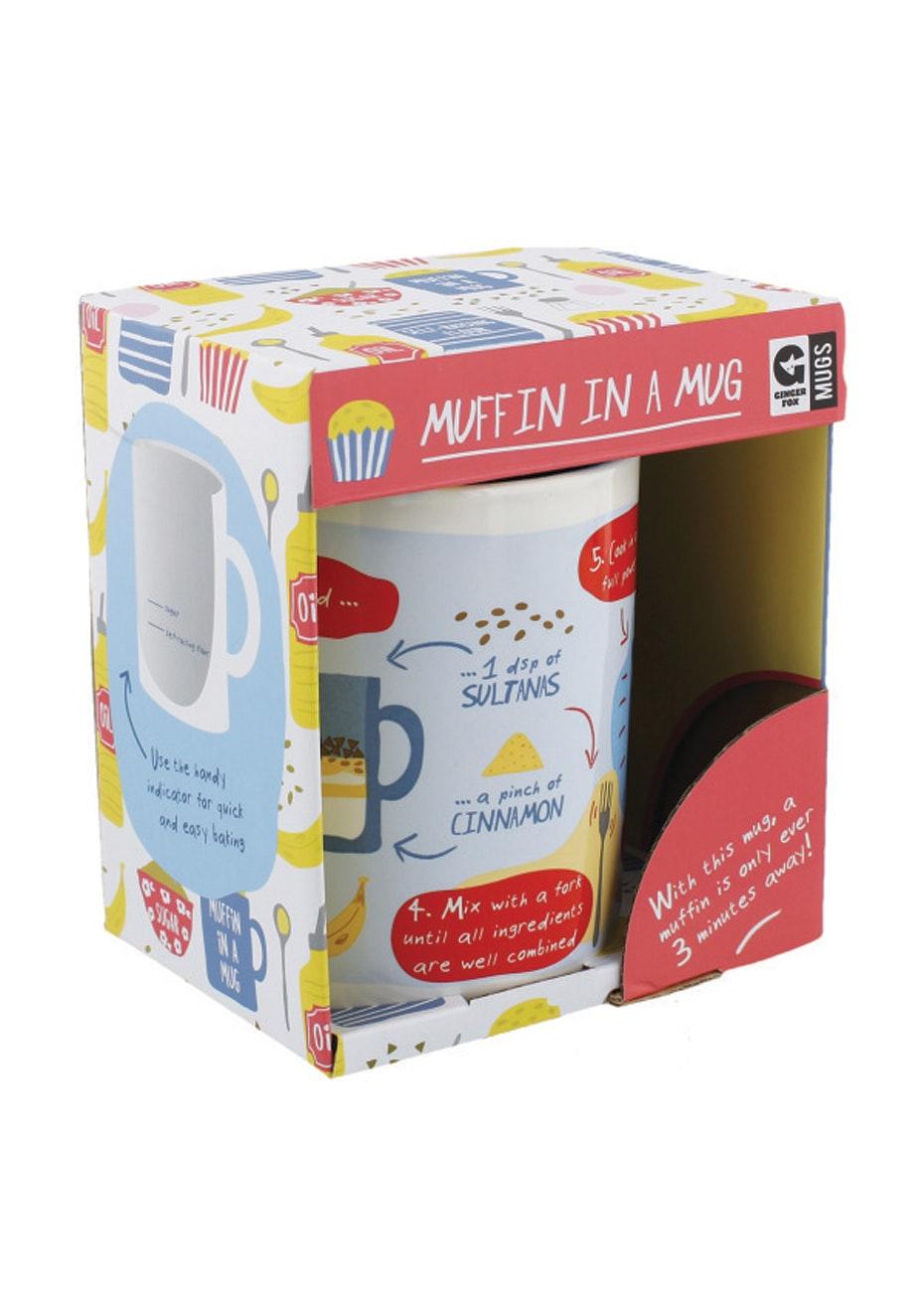 Ginger Fox - Muffin In A Mug