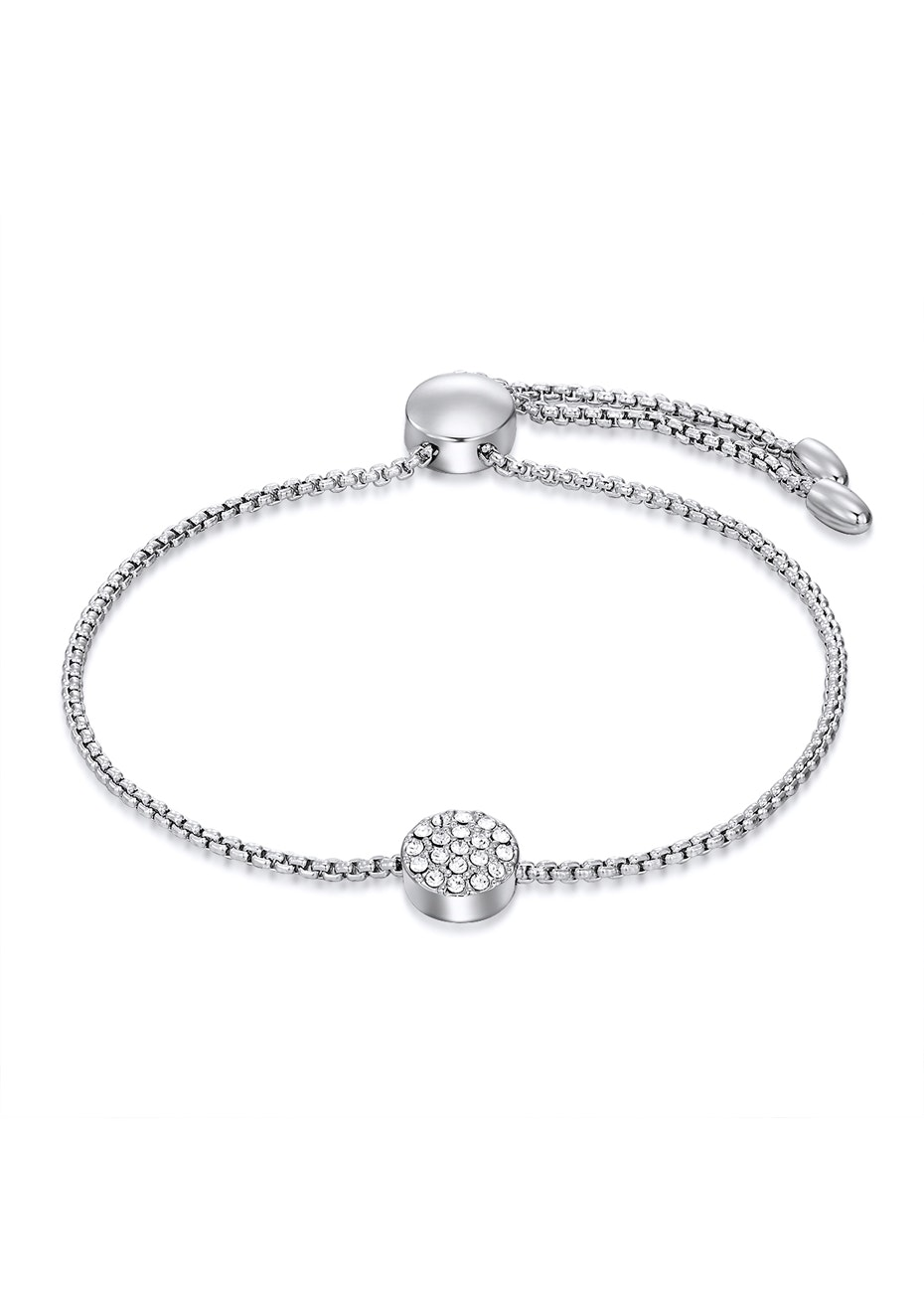 Slider Series Bracelet Ft Swarovski Crystals