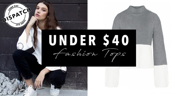 Under $40 Fashion Tops