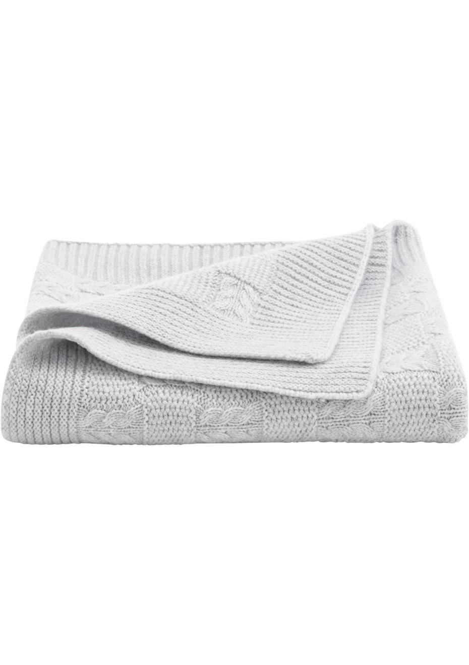 Sheridan - Callaghan - Wool Blend Pram Blanket 75cm x 100cm - Marl