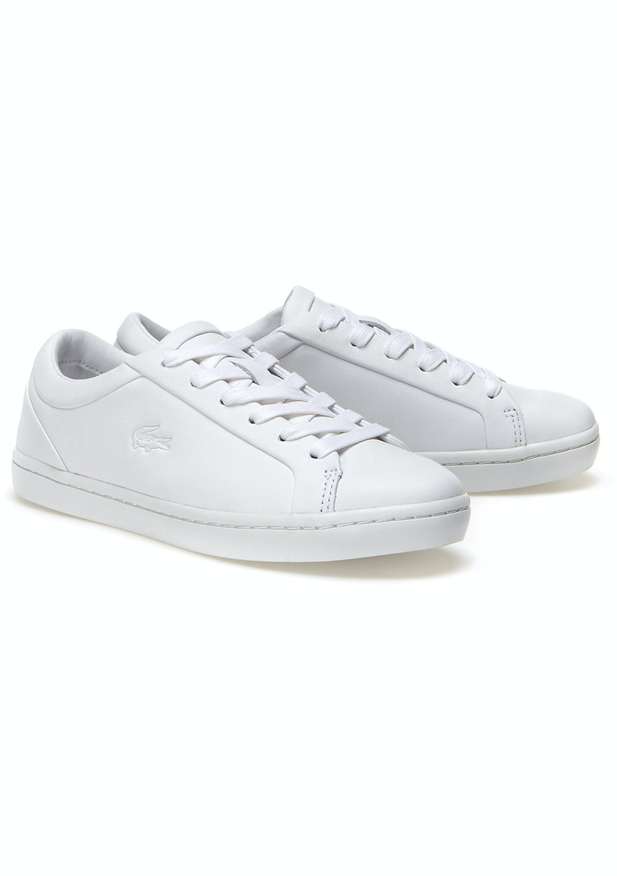 fe3bb55d07d1d9 Womens Lacoste - Straightset 316 1 - White - Big Shoe Outlet - Onceit