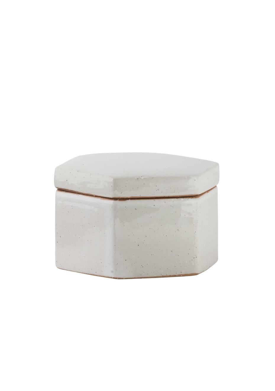 General Eclectic - Aurora Hex Box Small Stone