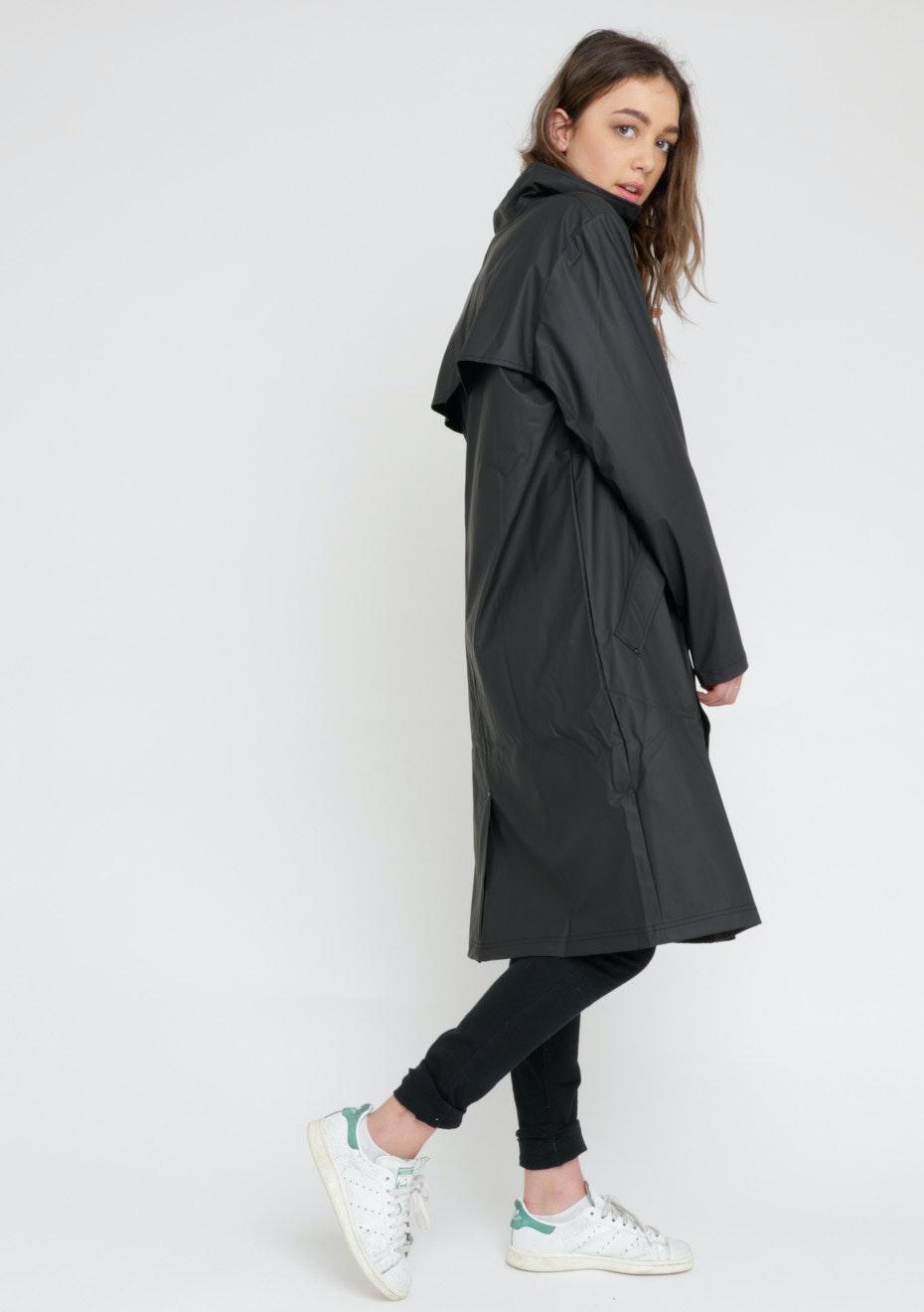 Rains - Mac Coat - Black