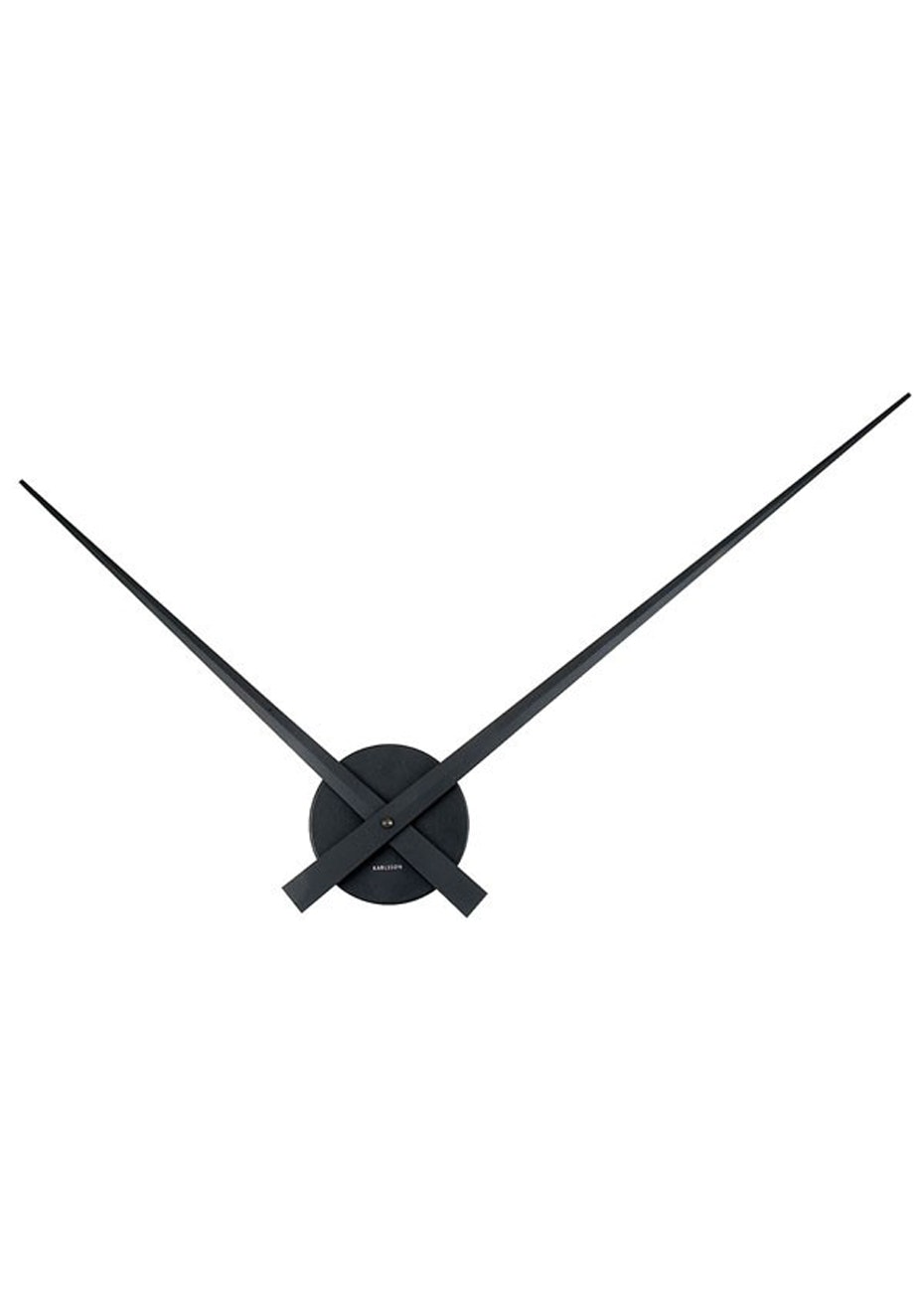 Karlsson - Wall Clock 'Little Big Time' - Black