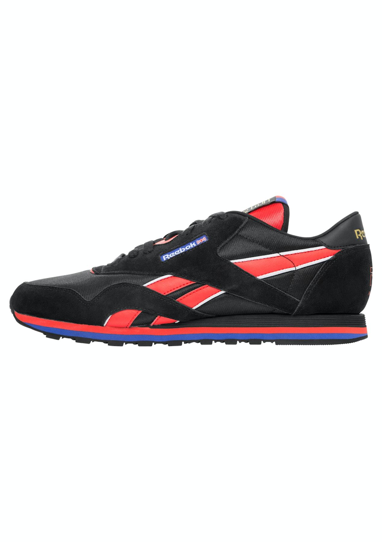 ba98216a63d999 Reebok x PE Nation Classic Nylon Trainer - Black - Reebok x PENation  Restock - Onceit