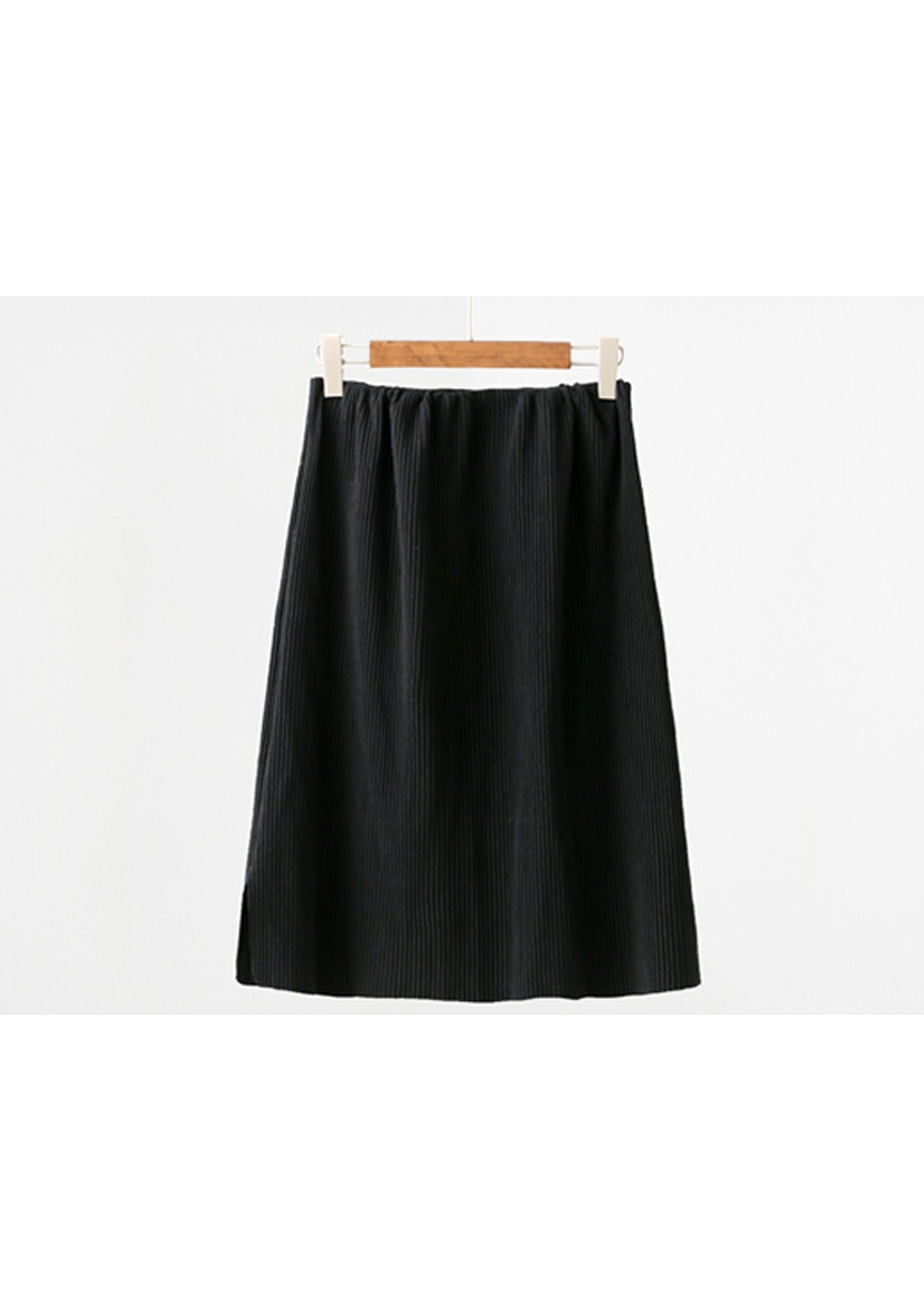 Dillan Knit Skirt  - Black