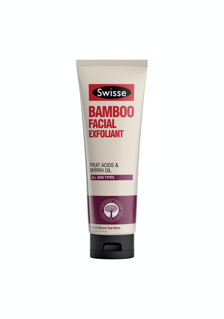 Swisse Bamboo Facial Exfoliant 125Ml (Was Polish)