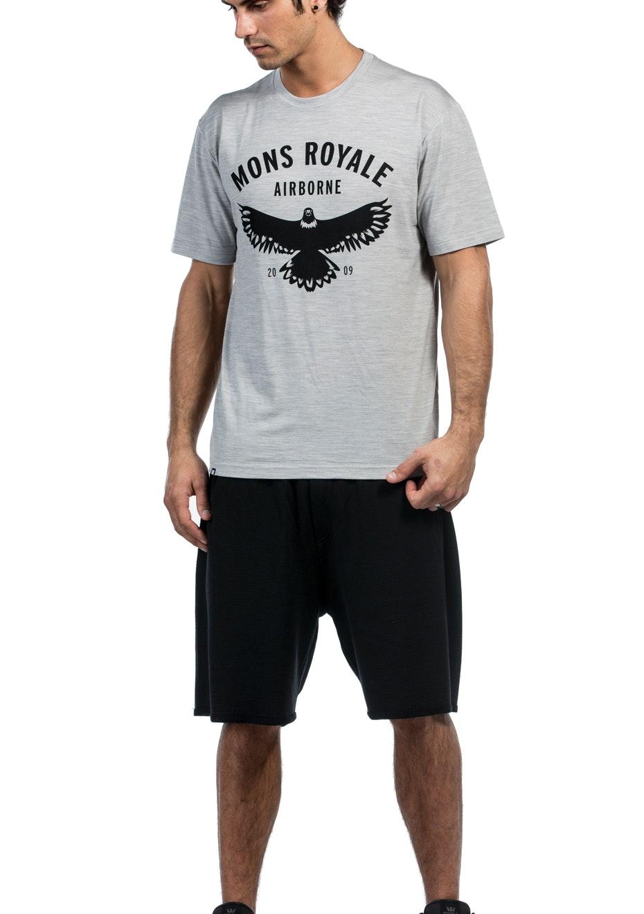 MONS ROYALE - Mens - Rocky Shorts - Black