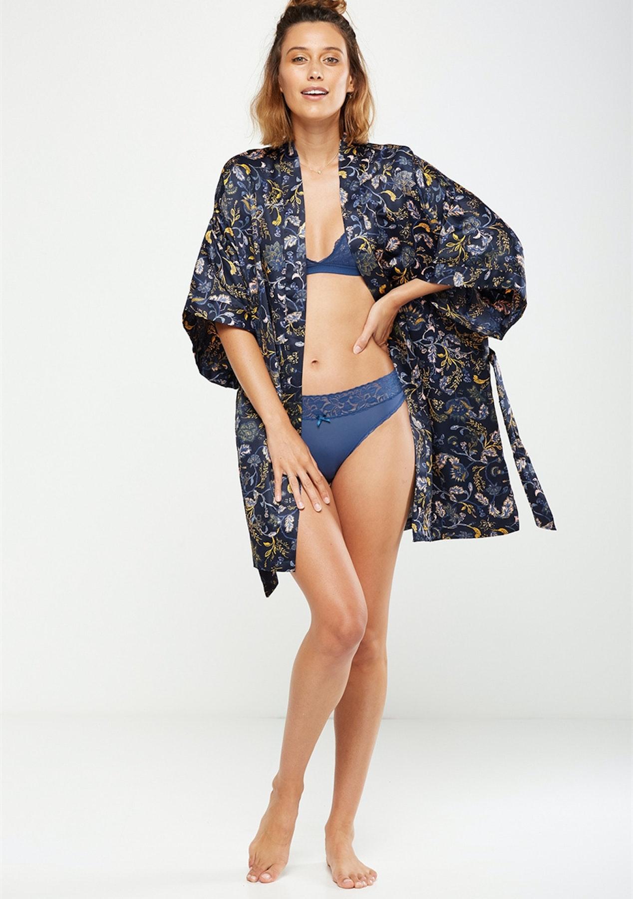a6e2eb1b7b Cotton On Body - Kimono Gown/Ornate Harvest Midnight