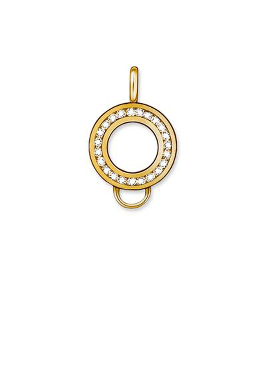 Thomas Sabo  - Charm Club - Yellow Gold Plate & Cz Carrier
