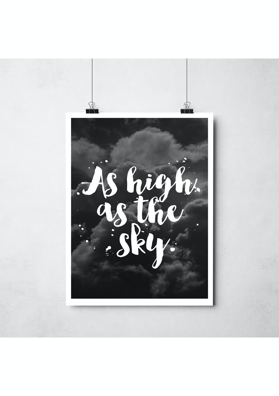 Simply Creative - High As The Sky - A3 Colour Print