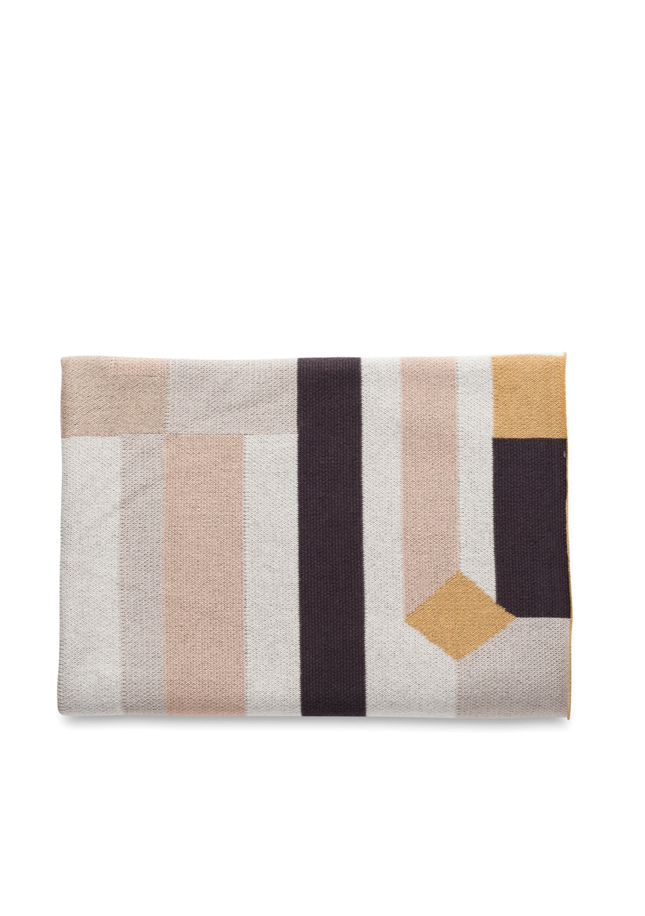 Citta - Casa Cotton Knit Throw - Multi