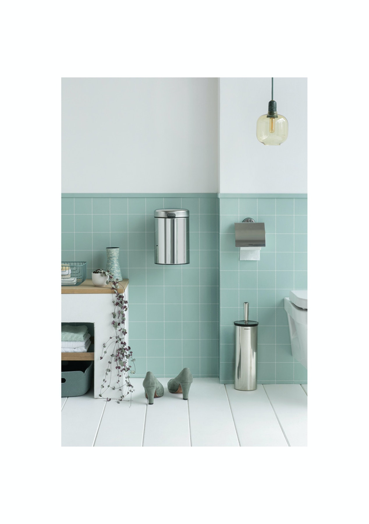 Brabantia - Pedal Bin Classic 20L - Brilliant Steel - Everything for ...