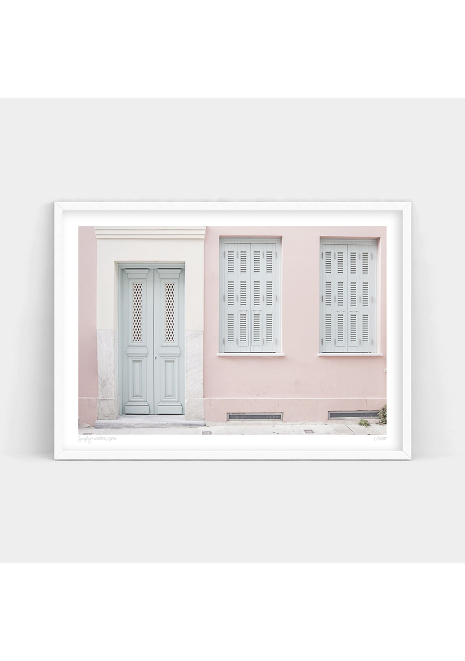 Simply Creative - Calm Passage - A1 Colour Limited Edition Print