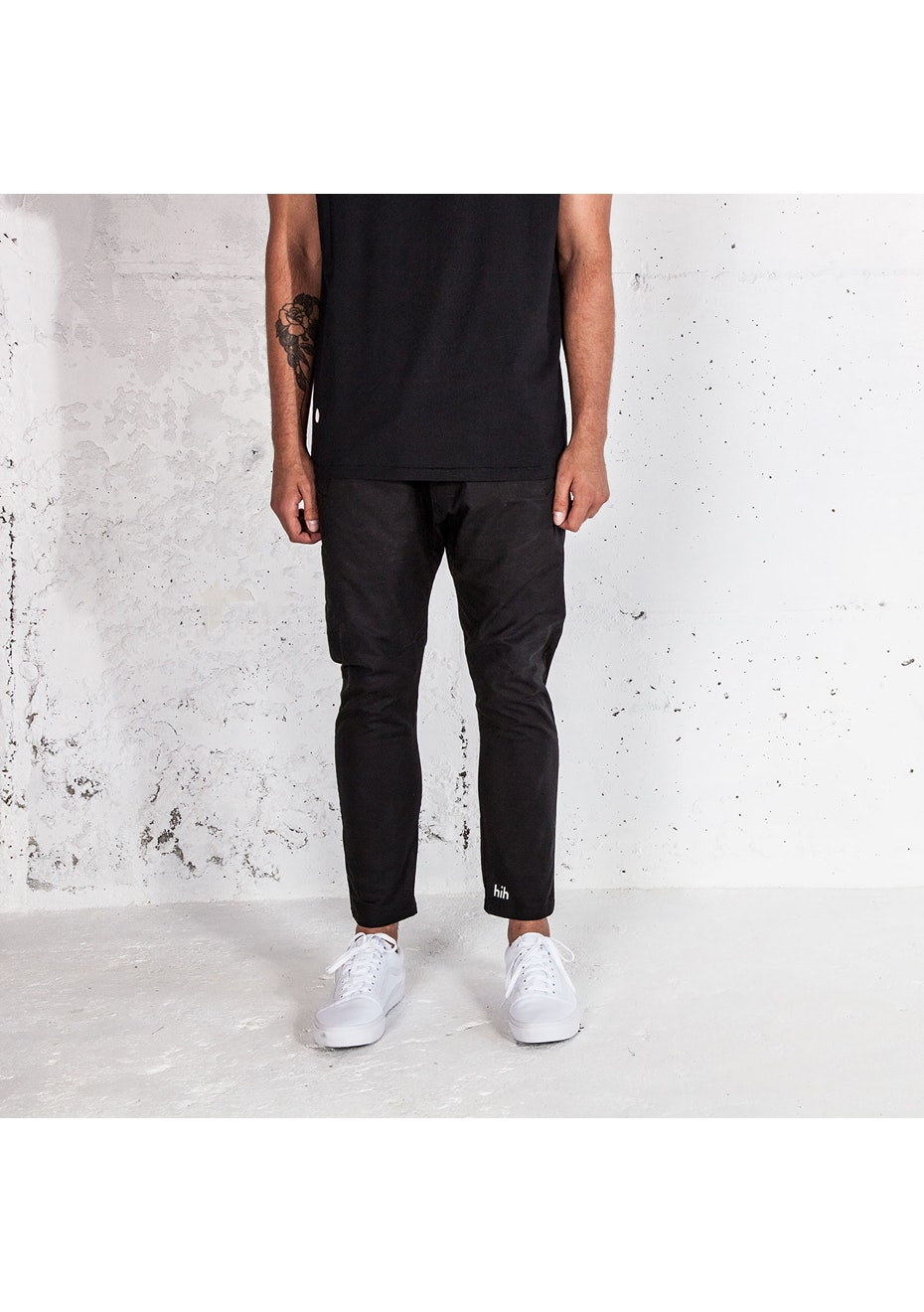 hih - Yes Pant - Black With Black