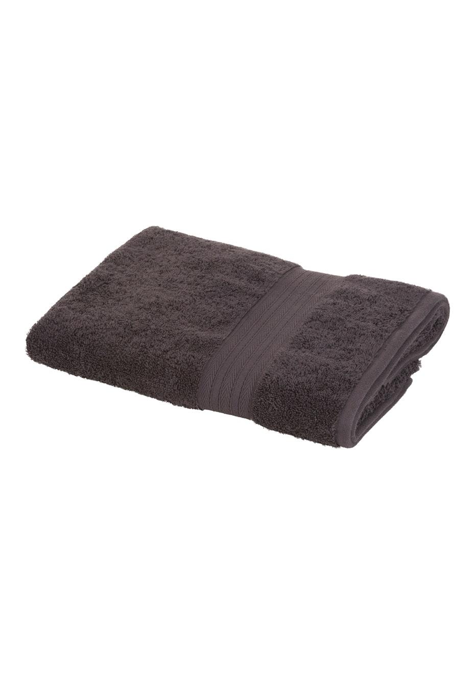 Morrissey Designer Egyptian Bath Towel Steel