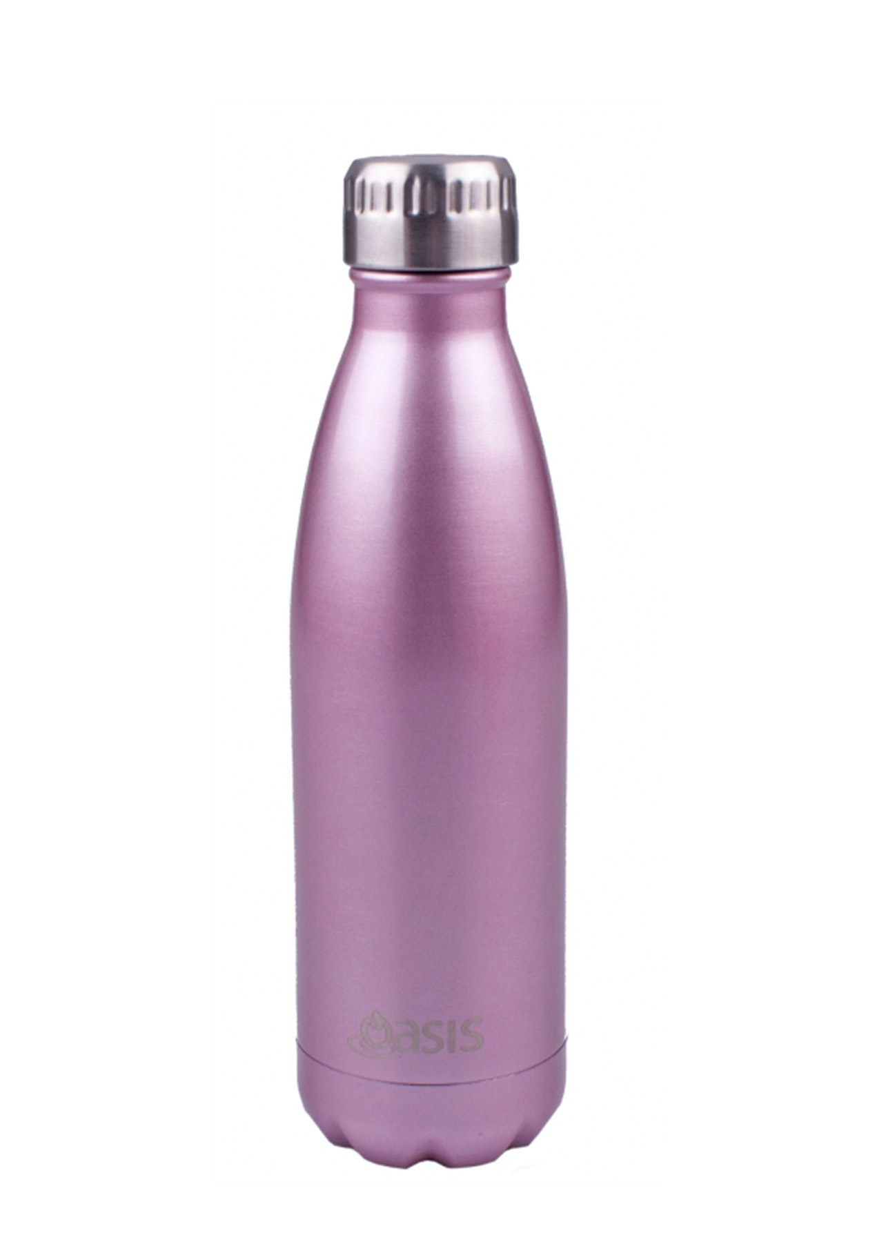Oasis - Insulated Drink Bottle 500ml - Blush